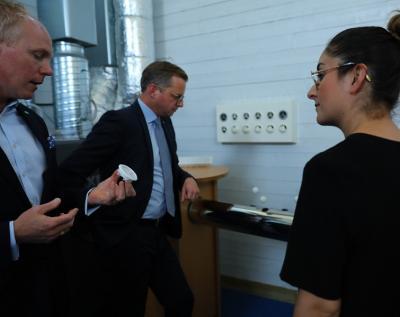 Mattias Kranz driver ventilationsföretaget Repus och är ordförande i Företagarna Upplands-Bro Håbo.