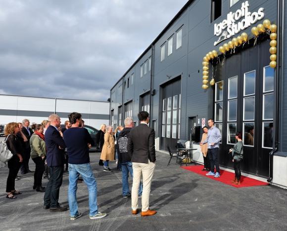 Igelkott Studios ligger i Brunna och drivs av Eric Hasso.
