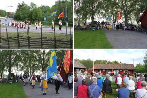 Arkivbilder från Nationaldagsfirandet i Kungsängen 2014.