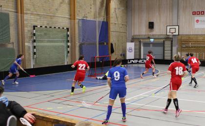 1-1, 2-1 och 3-1 till blåklädda KIF kom i rask följd i den andra perioden. Här 3-1-målet.