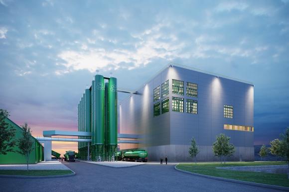 Ragn-Sells bygger ny anläggning för behandling av flygaska med sin patenterade teknik Ash2Salt.