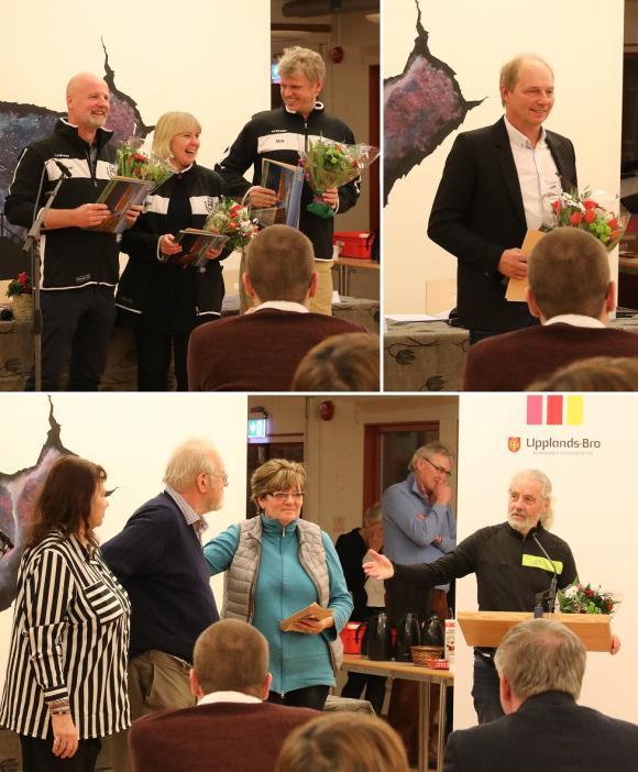 Ingvar Johansson, Gunilla Karlsson och Mats Nummelin är ledare i Kungsängen Knights. Leif Gustafsson till höger. Nederst syns några av Kulturbojens engagerade medlemmar.