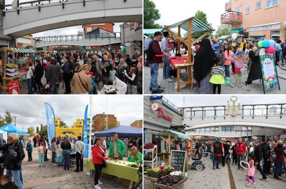 Arkivbilder från tidigare Fest i Byn.