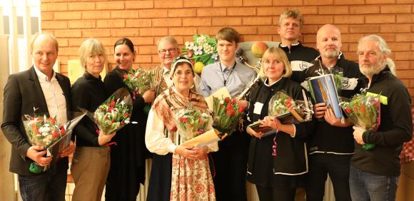 2016 års Kultur- och miljöstipendiater i Upplands-Bro!