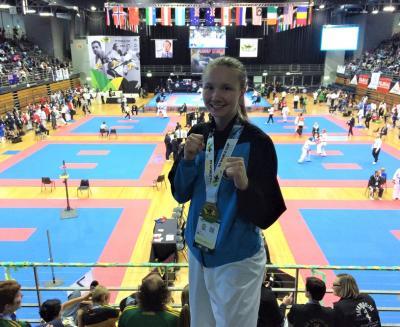 Guldmedaljör i ITF Taekwon-Do World Cup i Sydney - Ki Pasanen från Kungsängen!