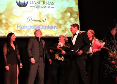 Larmassistans i Upplands-Bro som drivs av Sylvia och Johan Larsson tilldelades Damernas Affärsnätverks Stora Pris 2018.