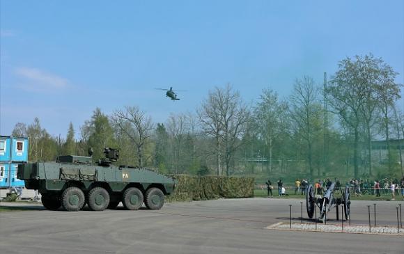 Helikopter på inflygning!