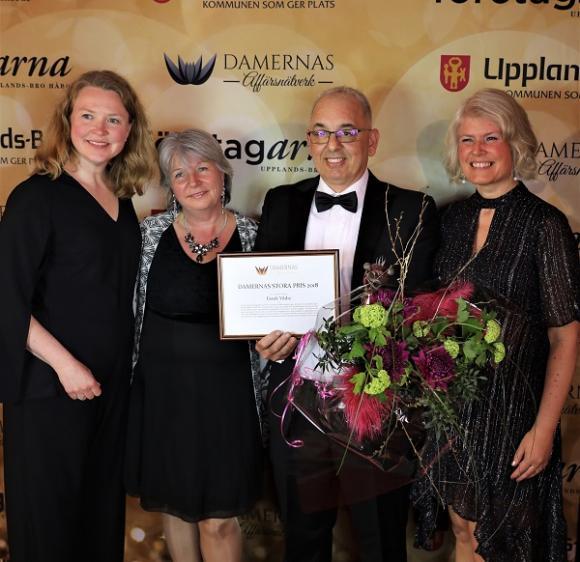 Karin Åkerblom Lingois, Maria Brofalk, faruk Yildiz samt Karin Sidén. Faruk Yildiz fick förutom diplom och blommor en raku-bränd statyett gjord av keramikern Monica Arnoldsson.