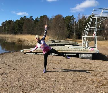 Med uteträning vid Lillsjön och kroppen som träningsredskap kommer Rebecca försöka inspirera Upplands-Bro-borna till ett aktivare liv.