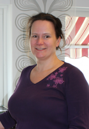 Kaarina Kranz, ordförande i Bro IK.