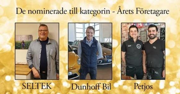 De nominerade är: Per-Erik Pelle Nordell, Jon Lindgren samt Dani Falksund Abdallahad och Maykel Tyrisevä Abdallahad