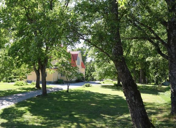Kvistaberg bjuder besökarna på lugn och ro och en fantastisk miljö.