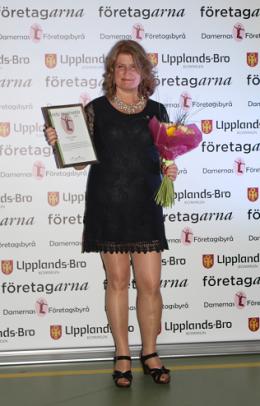 Nyss utsedd till Årets Inspiratör på Upplands-Brogalan 2014!