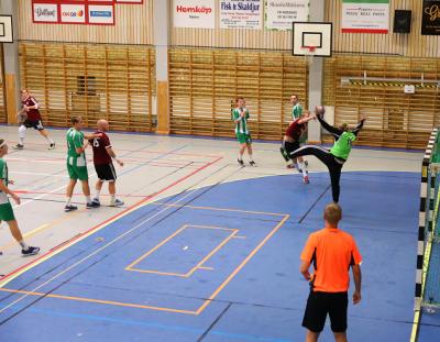 KSK hade tio målskyttar under kvällen. Flest mål gjorde Dan Höglund (7st) och Markus Kvarnefalk (6st).