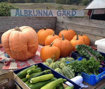 Ålbrunna Gård är en av flera lokala gårdar som kommer att sälja lokalproducerade produkter.