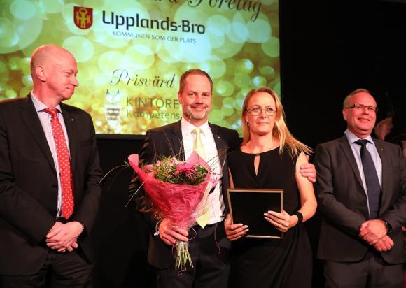 Årets Hållbara Företag är Frölunda Gård, Clas af Ugglas och Therese Ekerholm.