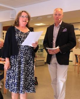 Politikerutfrågningen modererades av Företagarna Upplands-Bros ordförande Birgitta Dicksom samt Mattias Kranz.