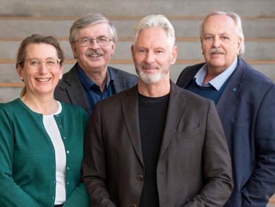 Allianspartierna i Upplands-Bro styrs av: Lisa Edwards (C), Martin Normark (L), Fredrik Kjos (M) och Janne Stefansson (KD)