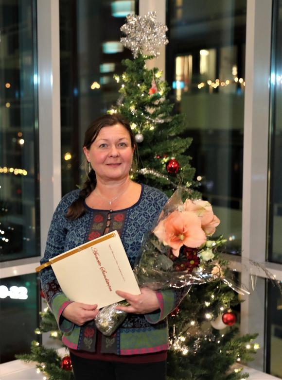 Annette Sandström har i samarbete med S.I.B arrangerat uppskattade natur- och historievandringar i Bro med omnejd.