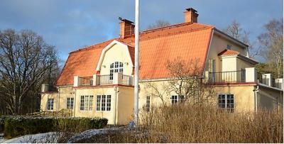 Kvistaberg i Bro är en anrik byggnad i fantastisk miljö.