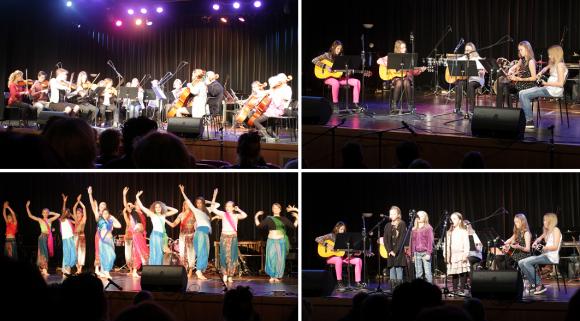 Arkivbild. Liten Gala för Världens Barn anno 2014. Kulturskolans elever och pedagoger bjuder varje år på en härlig galaföreställning med dans, musik och sång.