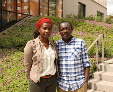 Bernice och Rene hoppas kunna bygga en framtid här i Sverige för sin lilla familj. Bernice har i dagarna fått två livsomvälvande besked. Ett positivt och ett negativt. Bernice är gravid men ska utvisas till Burundi. Maken Rene har däremot fått uppehållstillstånd.
