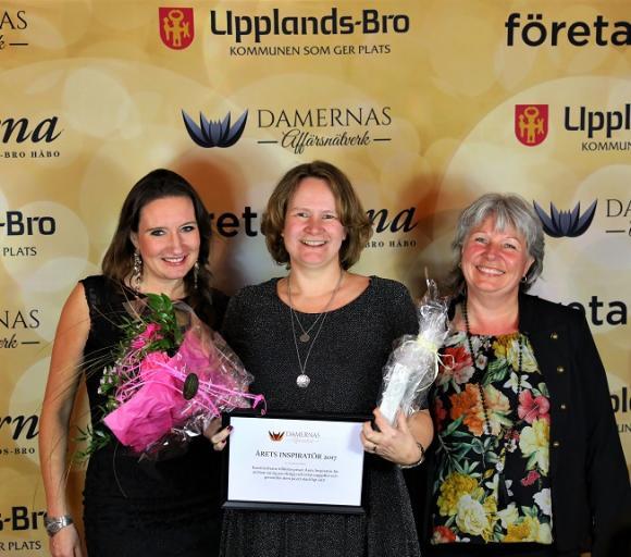 Damernas Affärsnätverk delade även de ut två priser. Årets Inspiratör blev Kaarina Kranz.