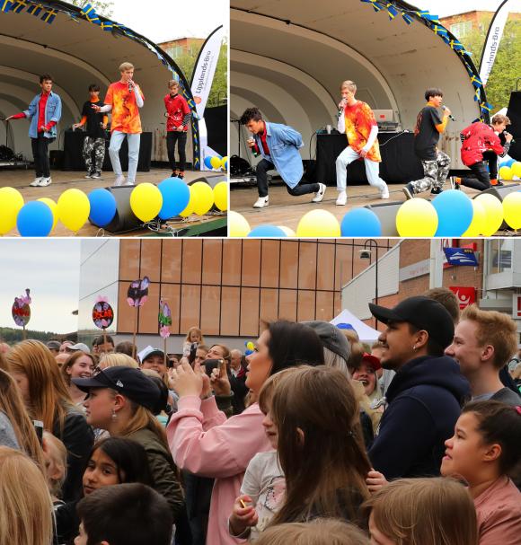 Världspremiär inför stor publik: pojkbandet Quest!<br />Spännande att se hur långt det bär för killarna! Premiärgiget gick kalasbra, sång och dans satt och publiken jublade!
