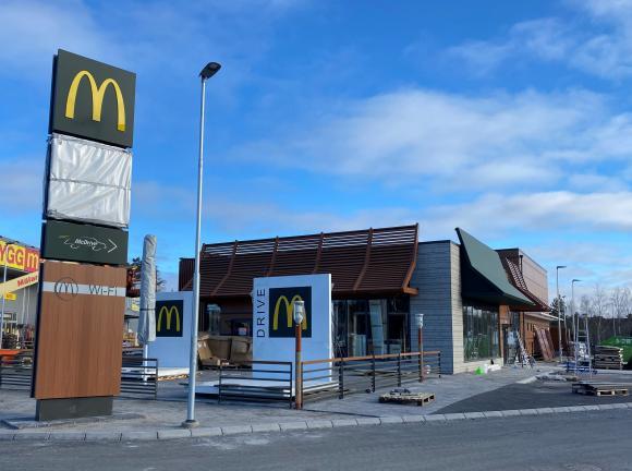 Nedräkningen är i full gång! Den 25 mars klockan 10 slår McDonald's i Kungsängen upp dörrarna.