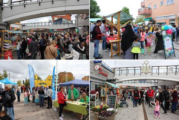 Lite mingelbilder från årets Fest i Byn. Gråvädret och duggregnet till trots var det många besökare som deltog i lördagens familjefest.