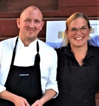 Micke och Ninni Åman driver Åmans Kök. Catering till vardags och fest.