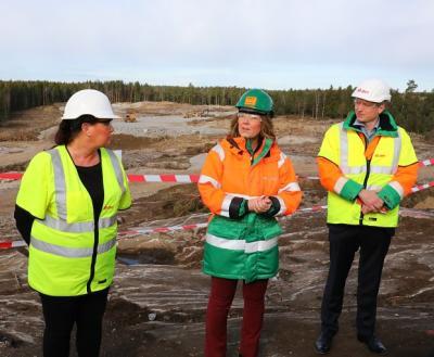 Camilla Janson, Helena Karlsson ochKarsten Wildberger.