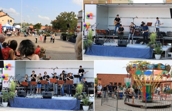 Kulturskolan bjöd på allt från rockringsdans till rock och en hel massa däremellan.