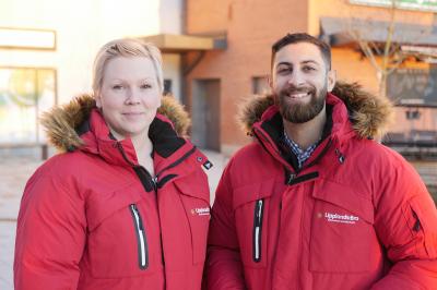 Kommunens nya Brobyggare - Malin Grentzelius och Steven Kiabi
