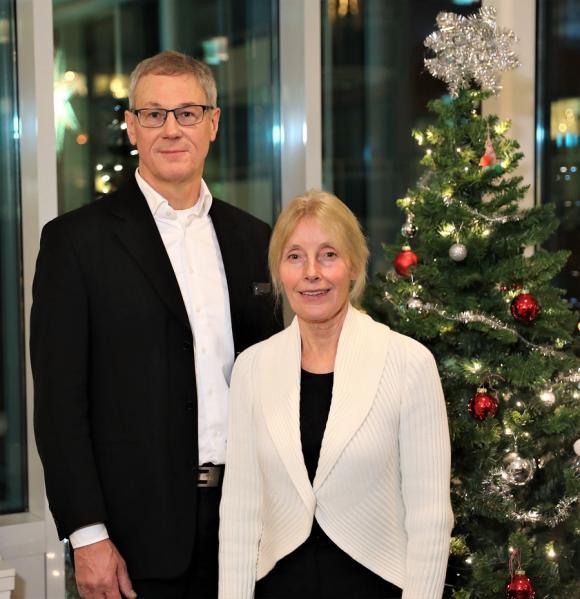 Johnny och Inger Rudolf.