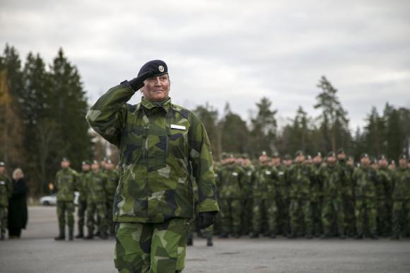 En historisk dag i Livgardets månghundraåriga historia: Överste Laura Swaan Wrede tar som första kvinna över som regementeschef.