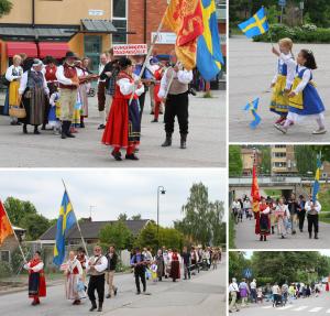 Arkivbilder från Nationaldagsfirandet i Bro 2014.