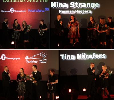 Vid 2015 års gala vann Nina Strange Damernas Stora Pris och Tina Närefors utsågs till Årets Inspiratör.