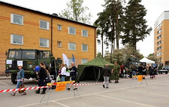 Arkivbild: Kungsfesten 2017. Livgardet brukar vara på plats på Kungsfesten för att visa upp sin verksamhet.