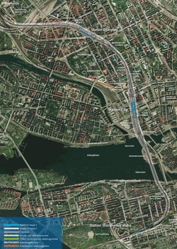 Översiktsbilden är en skärmdump från Trafikverkets hemsida.