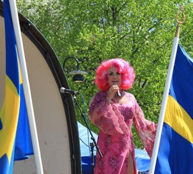 Babsan bjöd på en härlig show på årets KungsKalas.