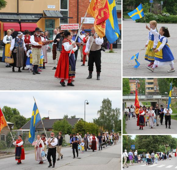 Arkivbild från Nationaldagsfirandet i Bro 2014.