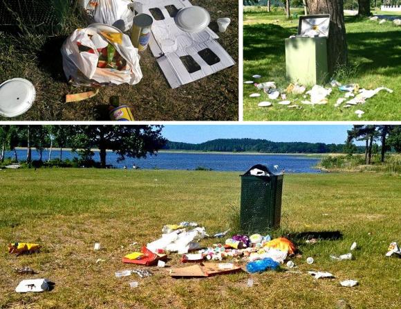 Sommaren 2013 var det många som utnyttjade kommunens badplatser. Många läsare hörde av sig om att det var skräpigt och att städningen var eftersatt.