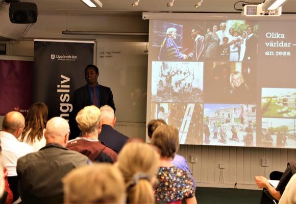 Hundratalet personer lockades till Tammsvik i förra veckan för att delta i ett trygghetsseminarium. Bland deltagarna fanns representanter från det lokala näringslivet, politiker, polisen och räddningstjänst samt ett flertal av kommunens tjänstemän.