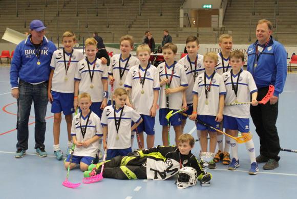 Bro IKs P12 vann B-finalen i MälarEnergi Cup 2015. Finalen spelades i ABB Arena.