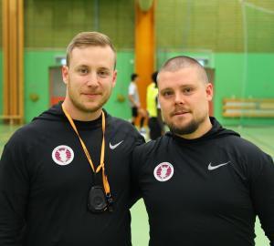 Martin Järnkrok och Robert Gullbrand startade föreningen i juni 2017 och sedan dess har man vuxit så att det knakar. Så gott som varje träning ansluter ett par-tre nya spelare.