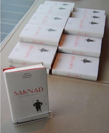 Ingela Johansson Ohrstedt har skrivit en roman med dokumentära rötter. Boken Saknad - En isländsk familjefar är baserad på de efterforskningar Ingela gjort om sin mammas bakgrund.