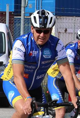 Christer från Rättarboda ska tillsammans med sina teamkamrater cykla från Prag till Varberg. Målet är att samla in ett mångsiffrigt belopp till Barncancerfonden.